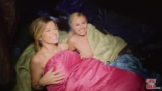GIRLS GONE WILD – We Find Summer and Adriana Camping Alone